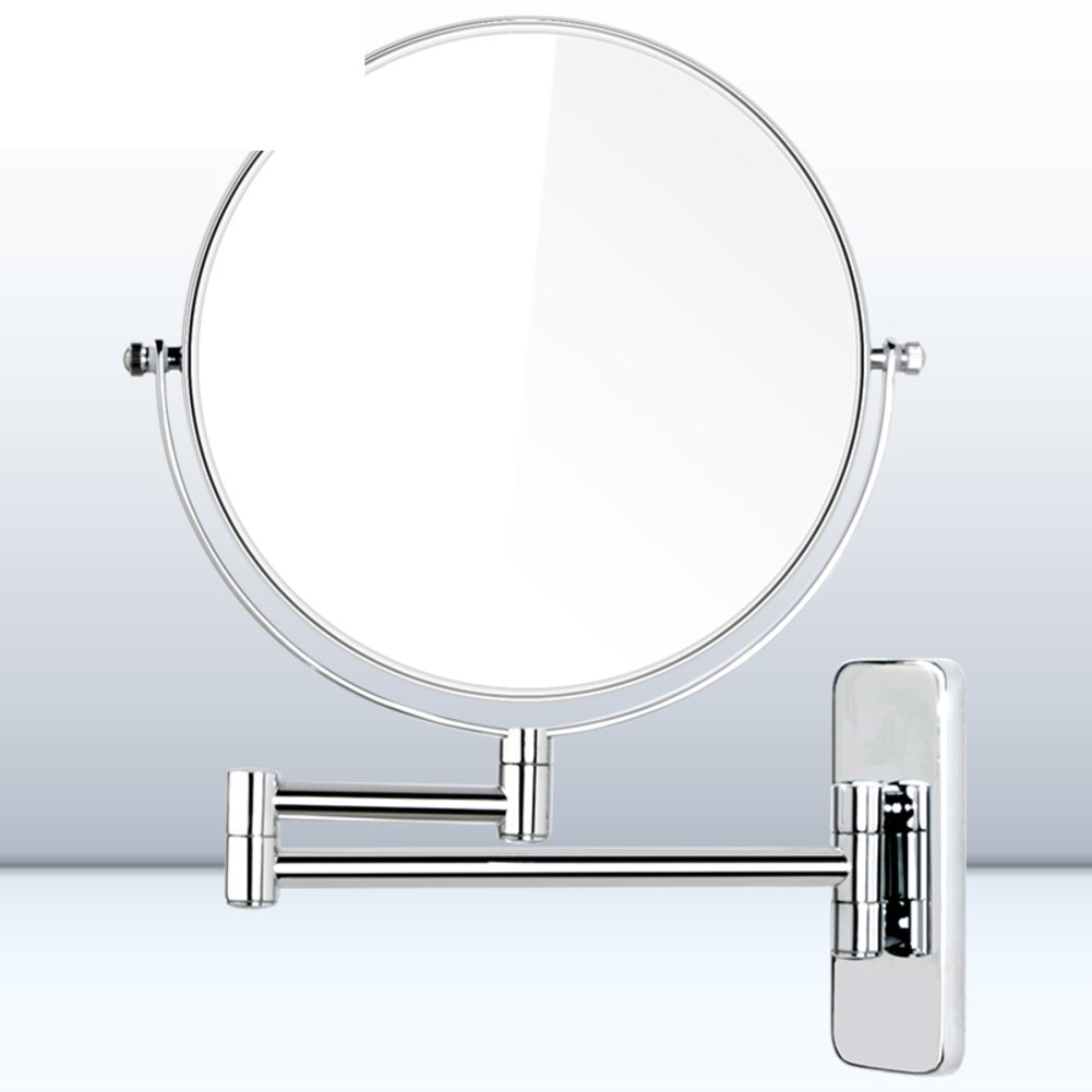 [Makeup mirror]/ Desktop mirror/dresser mirror/ the mirror/Creative circular simple/ three times times magnifying-E on sale