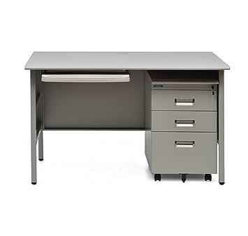 Nilkamal Fema Office Table (Grey)