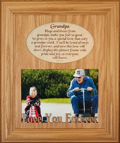 Amazon.com: 8x10 GRANDPA Laser Photo & Poetry Frame ~ Holds a ...