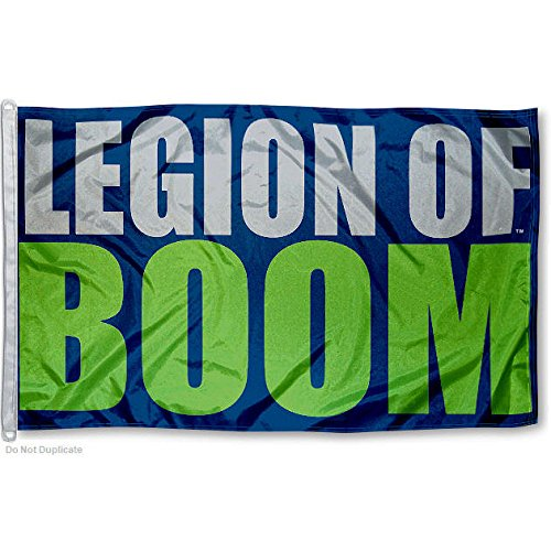 Seattle Seahawks LOB Big 3x5 Flag