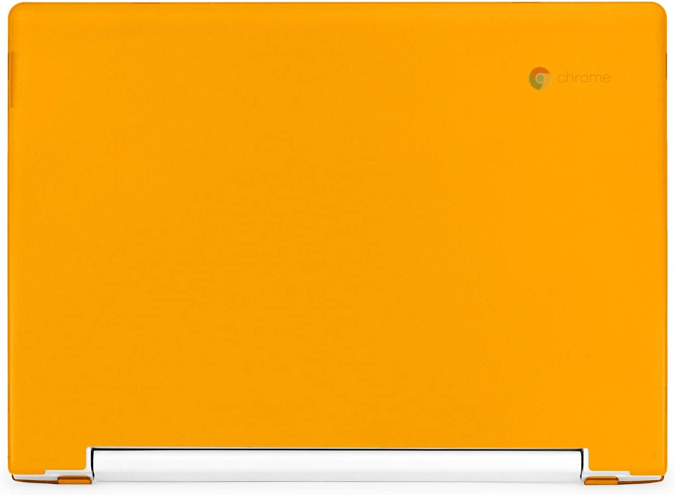 "mCover Hard Shell Case for Late-2018 11.6"" Lenovo C330 Series Chromebook Laptop (NOT Fitting Lenovo N21 N22 N23 N24 100E 300E 500E Flex 11 Yoga 11e Chromebook) (LEN-C330 Orange)"