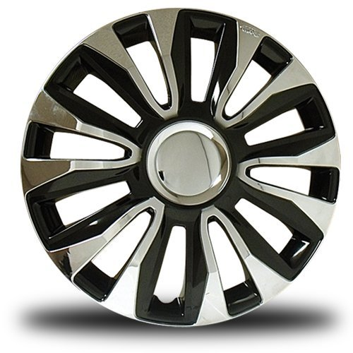 16 hubcaps black - 5