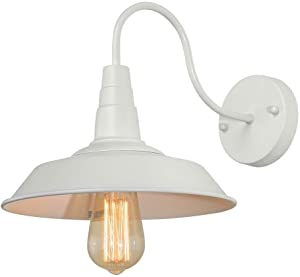 LNC Wall Sconce Barn Light Gooseneck Wall Lamp Industrial Vintage Farmhouse Wall Lighting for Bedroom and Living Room