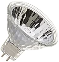 Ushio BC6244 1000009 - 20W Halogen Light Bulb - MR16 - Eurostar Reflekto - BAB Flood - Open Face - 3,500 Life Hours - 12V