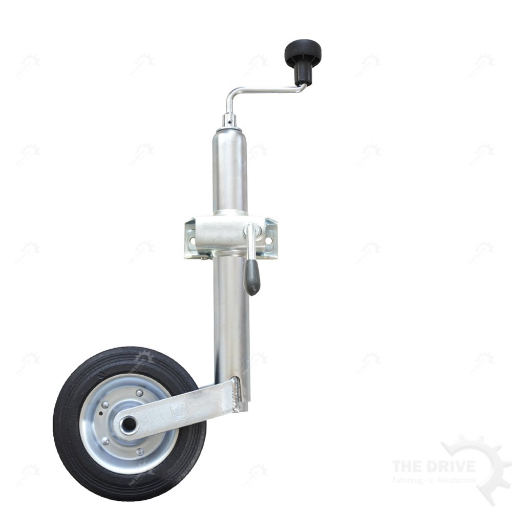The Drive -14943-001- Roue jockey, avec jante en acier et support de serrage DT Parts 14943-0001