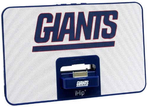 iHip NFL NEW YORK GIANTS Portable Speaker System by iHip
