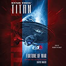 Titan: Fortune of War Audiobook by David Mack Narrated by Robert Petkoff