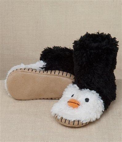 Hatley Penguin Kids' Slippers