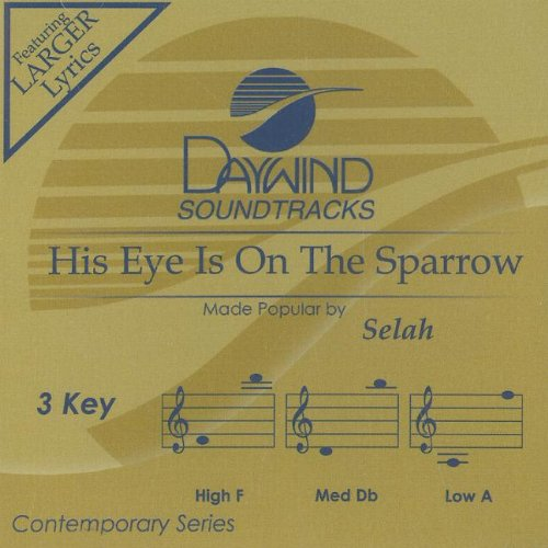 (His Eye Is On The Sparrow [Accompaniment/Performance Track])
