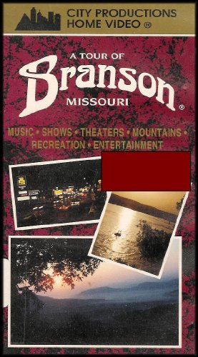 A Tour of Branson, Missouri (Music, Shows, Theaters, Mountains, Recreation, Entertainment) VHS - Mall Missouri City