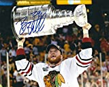 Signed Bryan Bickell 8x10 Photo Chicago Blackhawks - Certified Autograph