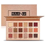 MAANGE Eyeshadow Palette 18 Colors Highly Pigmented Eye Shadow Palette, 11 Matte + 7 Shimmer, Long Lasting Waterproof Colorful Eyeshadows Cosmetics