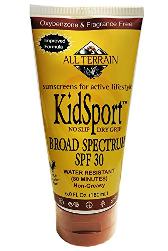 All Terrain KidSport SPF 30 Sunscreen, 6 Ounce, Mineral Based Sunscreens, Oxybenzone & Octinoxate Free, UV Protection