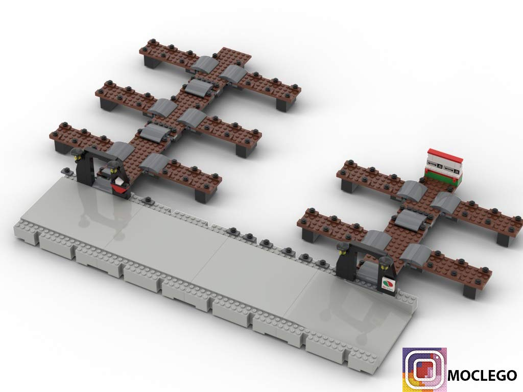 Building - Dock (Instruction Only): MOC LEGO