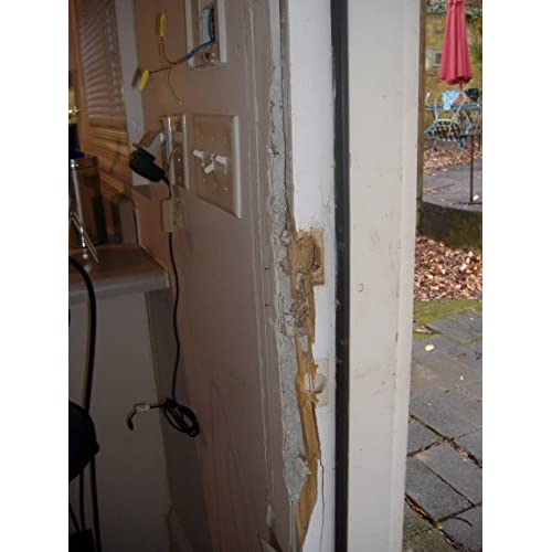 low cost door jamb pro 24 od door frame reinforcement strike plate - Door Frame Reinforcement