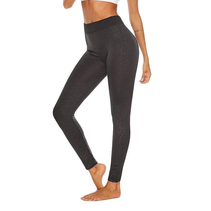 Realde Mujer Pantalones Largos Leggings Para Running Yoga y ...