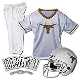 Franklin Sports NCAA Texas Longhorns Kids College Football Uniform Set - Youth Uniform Set - Includes Jersey, Helmet, Pants - Youth Medium