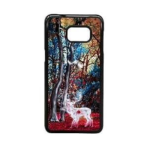 Generic for Samsung Galaxy S5 Edge Cell Phone Case Black Bambi Custom 2471