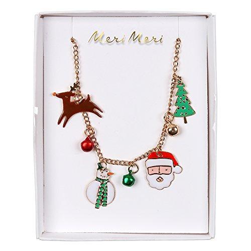 Meri Meri, Holiday Necklace - Christmas Character -
