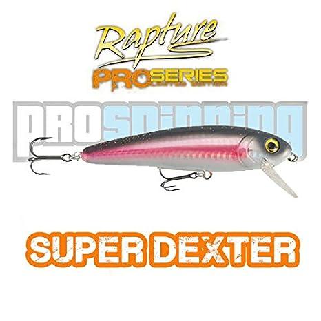 RAPTURE - SUPER DEXTER- Señuelo pesca - Spinning - COLOR PKS ...