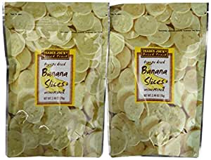 Trader Joe's Freeze Dried Bananas (2 Pack)