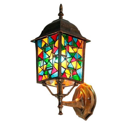 Outdoor Lighting Fixtures Stained Glass in Florida - 8