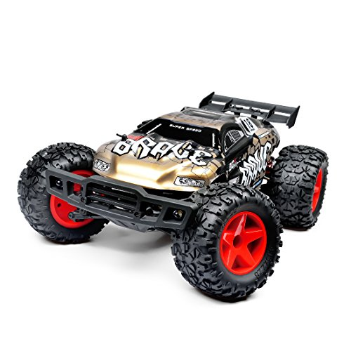 10 Electric Rc Car - 1:12 Rechargeable RC Monster Truck Electric Radio Remote/Radio Control Car 4WD RTR 2.4Ghz 30MPH High SpeedOff Road Vehicle High Speed Racing Rock Climber