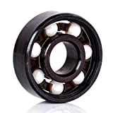 1pc New Ceramic Inline Speed Mayitr 608 Ball Bearing For Finger Spinner High Precision Skateboard Bearings Outer Diameter 22mm