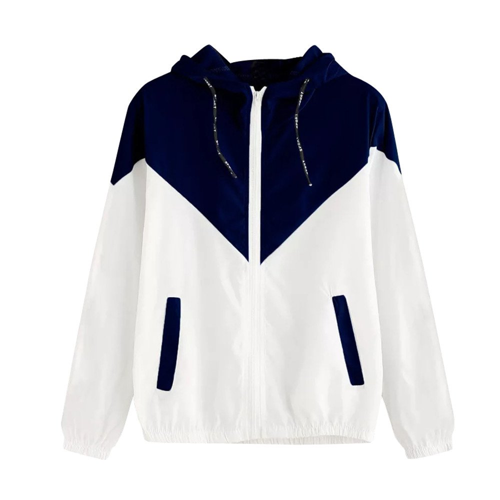 Womens Hooded Winter Warm Coats Thin Skinsuits Parkas Overcoat Zipper Outwear Sport Lightweight Jackets with Pockets