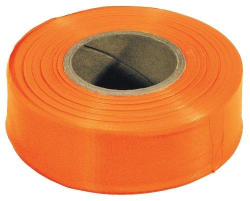 - 12 Pack Irwin 65902 Strait-Line 300' Standard Orange Flagging Tape
