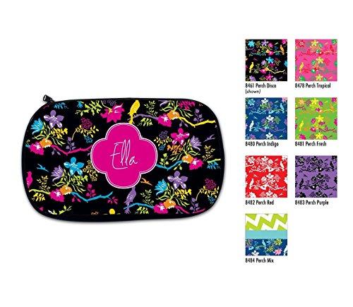 Monogram Make Up Bag, Personalized Cosmetic Bag Monogrammed Case Bridesmaid Birthday Gift Travel -
