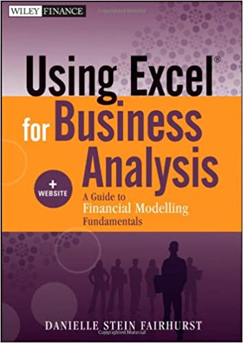 Using Excel For Business Analysis Website A Guide To