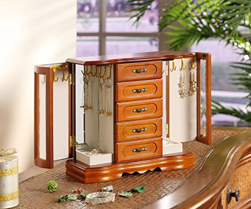 Nathan Direct London 2 Door Jewelry Box for sale  Delivered anywhere in USA
