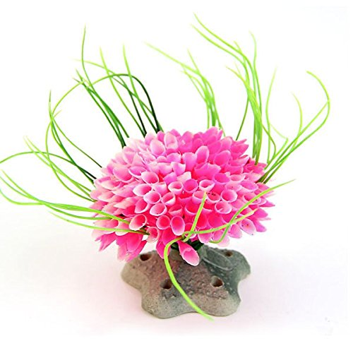 hot-artificial-water-pink-plant-grass-for-fish-tank-aquarium-plastic-decor-ornament-no029