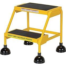 Vestil LAD-2-Y Steel Spring Loaded Roll Ladder, 16