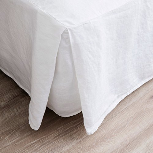 Merryfeel Luxurious 100% Pure French Linen Bed Skirt - (Bedding Bed Linen)