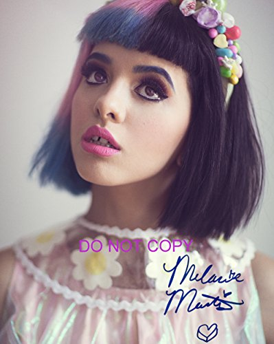 Melanie Martinez Reprint Signed 11X14  Poster Photo  2 Rp Dollhouse The Voice Cry Baby