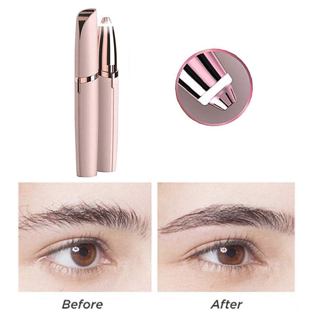 Flawlessly Brow Hair Remover - Brows Best Eyebrow Trimmer Women Painless Hair Remover, Flawlessly Eyebrow Remover As Seen On TV by Life In Color (Image #5)