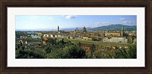 Buildings in a city with Florence Cathedral in the background,