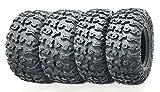 Set of 4 Premium FREE COUNTRY ATV/UTV Tires 25x8-12 Front & 25x10-12 Rear / 8PR