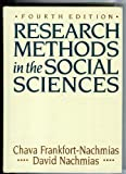 Research Methods in the Social Sciences, Nachmias, Chava and Nachmias, David, 0312062753