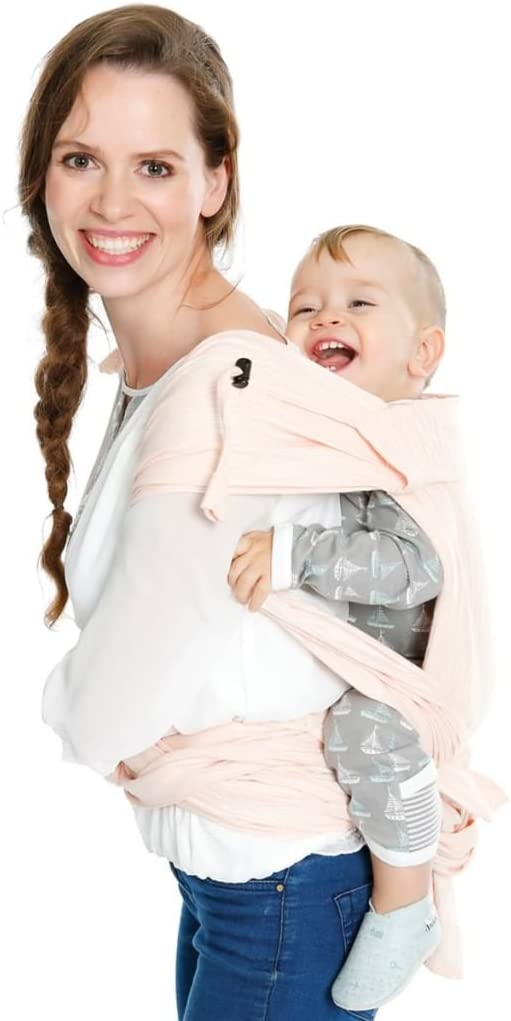 BB-tai Delicate pink - sizer Babylonia baby carriers special edition
