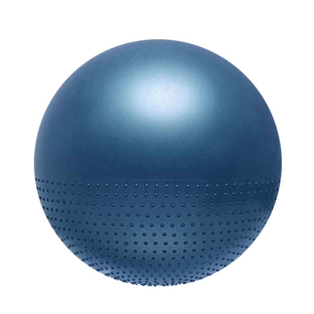 Bleu Boule de Yoga Grossesse Exercice Gym Balle Anti-Burst Exercice Balle Débutant Bureau Gym à Domicile équilibre Workout Fitness Taille 65cm 65cm(Height 160-165cm)