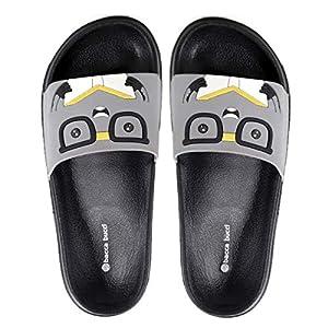Bacca Bucci Men's Benassi Solarsoft Slide Athletic Sandal/Beach Slippers/Slidders/Lounge Slide/Room wear Flip Flops-Book