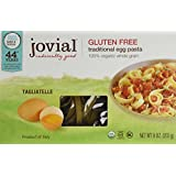 Jovial Organic Gluten Free Brown Rice Pasta, Egg Tagliatelle, 9 Ounce (Pack of 3)