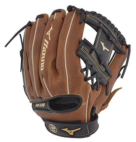 Mizuno GPSL1100BR Prospect Select Series Infield Baseball Gloves, 11