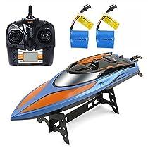 GizmoVine H101 Barca RC ad alta velocità 2.4GHz 30mph di nuova arrivo di RC con i giocattoli di telecomando di funzione di ripristino di Capsize per il ragazzo