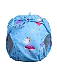 [Blue] Reuseable Baby Swim Diaper Lovely Infant Swim Nappy Swimwear