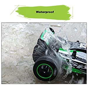 Ef Cool 2.4GHZ 2WD Radio Remote Control Off Road RC RTR Racing Fashion Car Truck (Green)