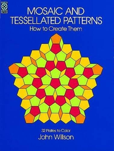 Tangled Fancy Dress (Mosaic and Tessellated Patterns: How to Create Them, with 32 Plates to Color (Dover Art Instruction))